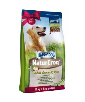 Happy Dog NaturCroq Jagnięcina & Ryż 18kg