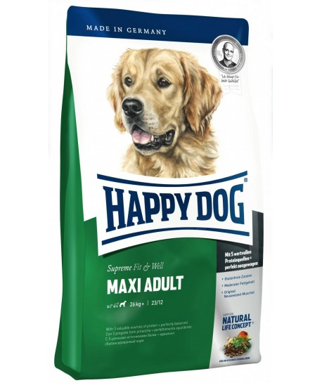 Happy Dog Fit&Well Adult Maxi 15kg